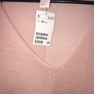 H&M Sweaters - H & M think pink sweater top